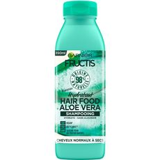 FRUCTIS Fructis Hair Food Shampooing vegan aloé vera cheveux normaux 350ml 350ml