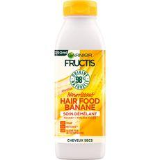 FRUCTIS Hair Food Soin démêlant vegan à la banane pour cheveux secs 350ml