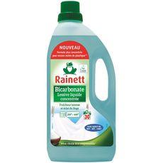 Rainett Lessive liquide écologique au bicarbonate 30 lavages 1,5l