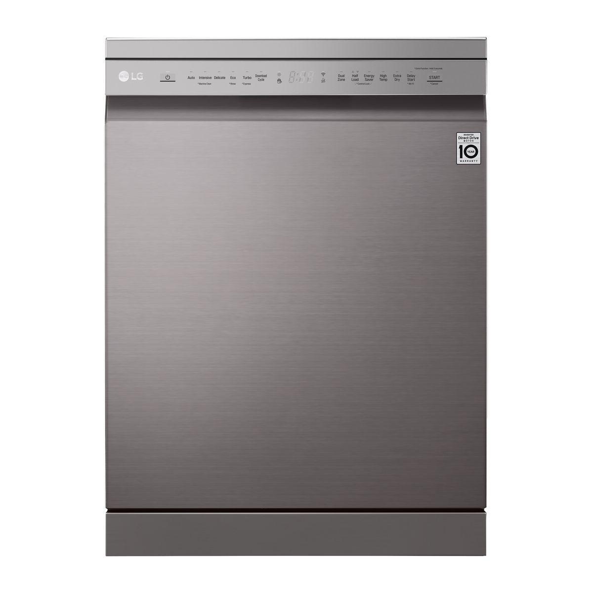 Lave vaisselle pose libre DF215FP, 14 couverts, 60 cm, 44 dB, 9 programmes