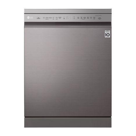 LG Lave vaisselle pose libre DF215FP, 14 couverts, 60 cm, 44 dB, 9 programmes