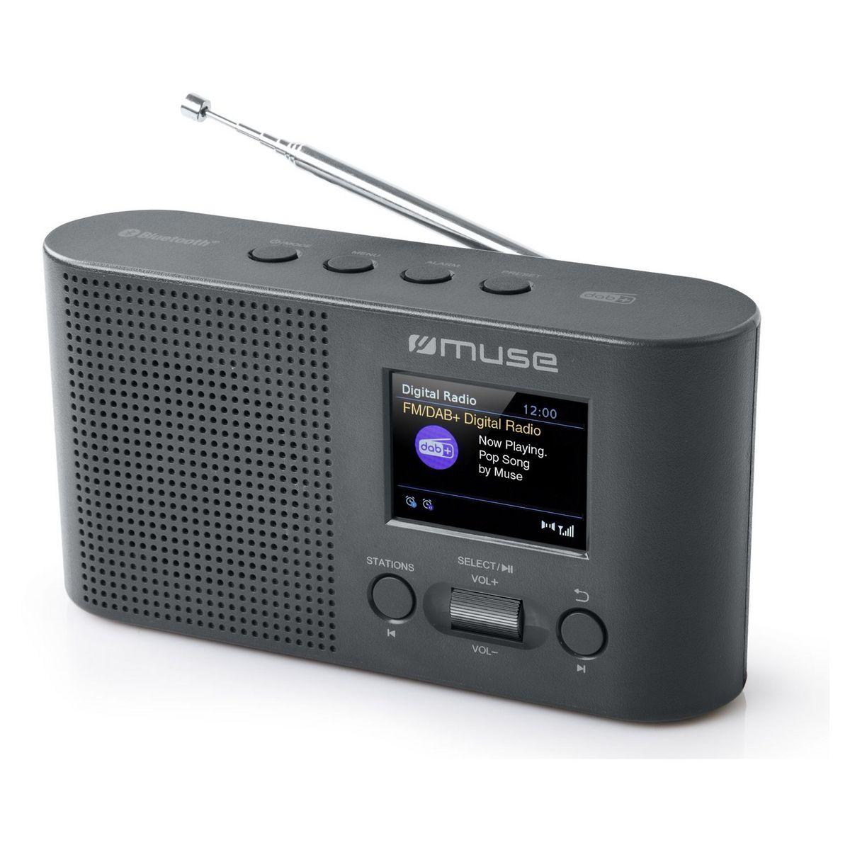 Radio portable numérique - Gris - M-112 DBT
