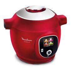 MOULINEX Multicuiseur intelligent cookeo CE85B510 - Rouge