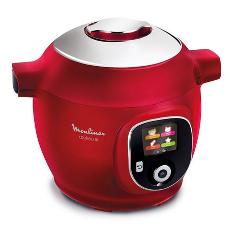 MOULINEX Multicuiseur intelligent cookeo CE85B510 - Rouge
