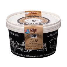 LA BELLE AUDE Crème glacée sans gluten au café 100% arabica 550ml