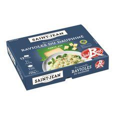 SAINT JEAN Ravioles du Dauphiné au comté AOP label rouge 4-6 portions 720g