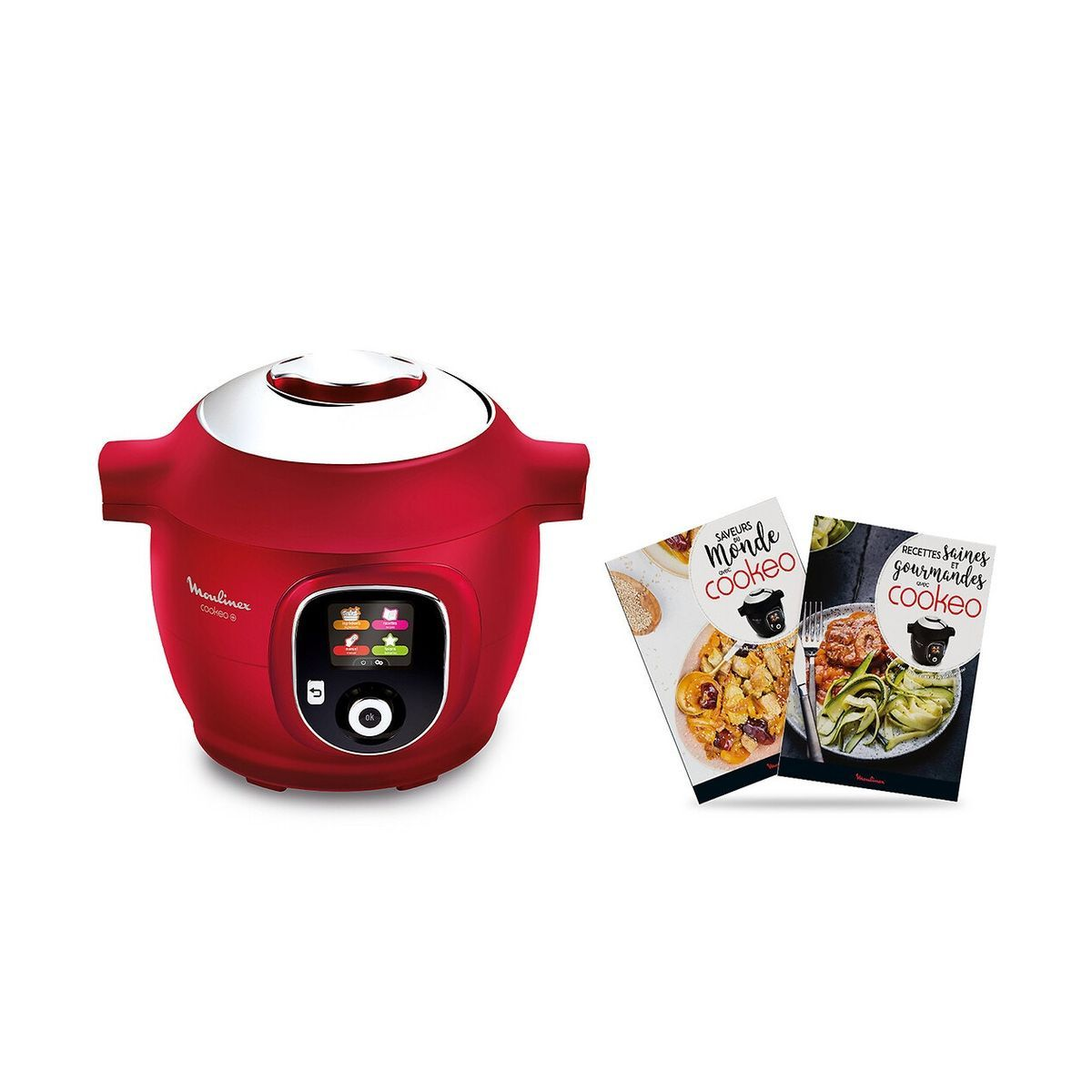Multicuiseur intelligent cookeo YY4393FB - Rouge
