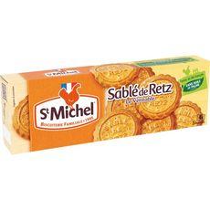 ST MICHEL Biscuits sablés de Retz, sachets fraîcheur 4 sachets 120g