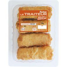 AUCHAN LE TRAITEUR Nems aux crevettes 4 pièces 280g