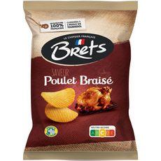 BRETS Chips saveur poulet braisé 125g