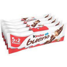 KINDER Bueno barres chocolatées 5 barres 220g