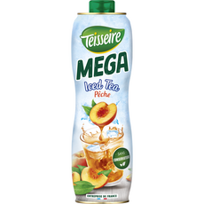 Teisseire TEISSEIRE Sirop de thé pêche Mega Iced Tea