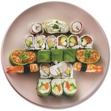 SUSHI GOURMET Sushi Gourmet Box fêtes des mères 22 pièces 600g 22 pièces 600g