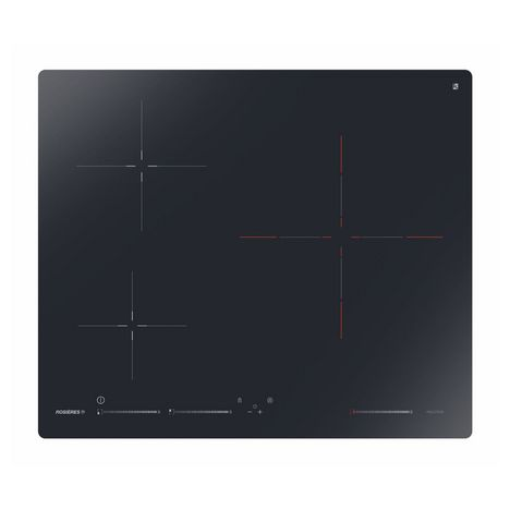 ROSIERES Table de cuisson induction RISD3BC, 60 cm, 3 foyers