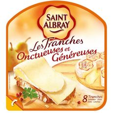 SAINT ALBRAY Tranche de fromage 130g