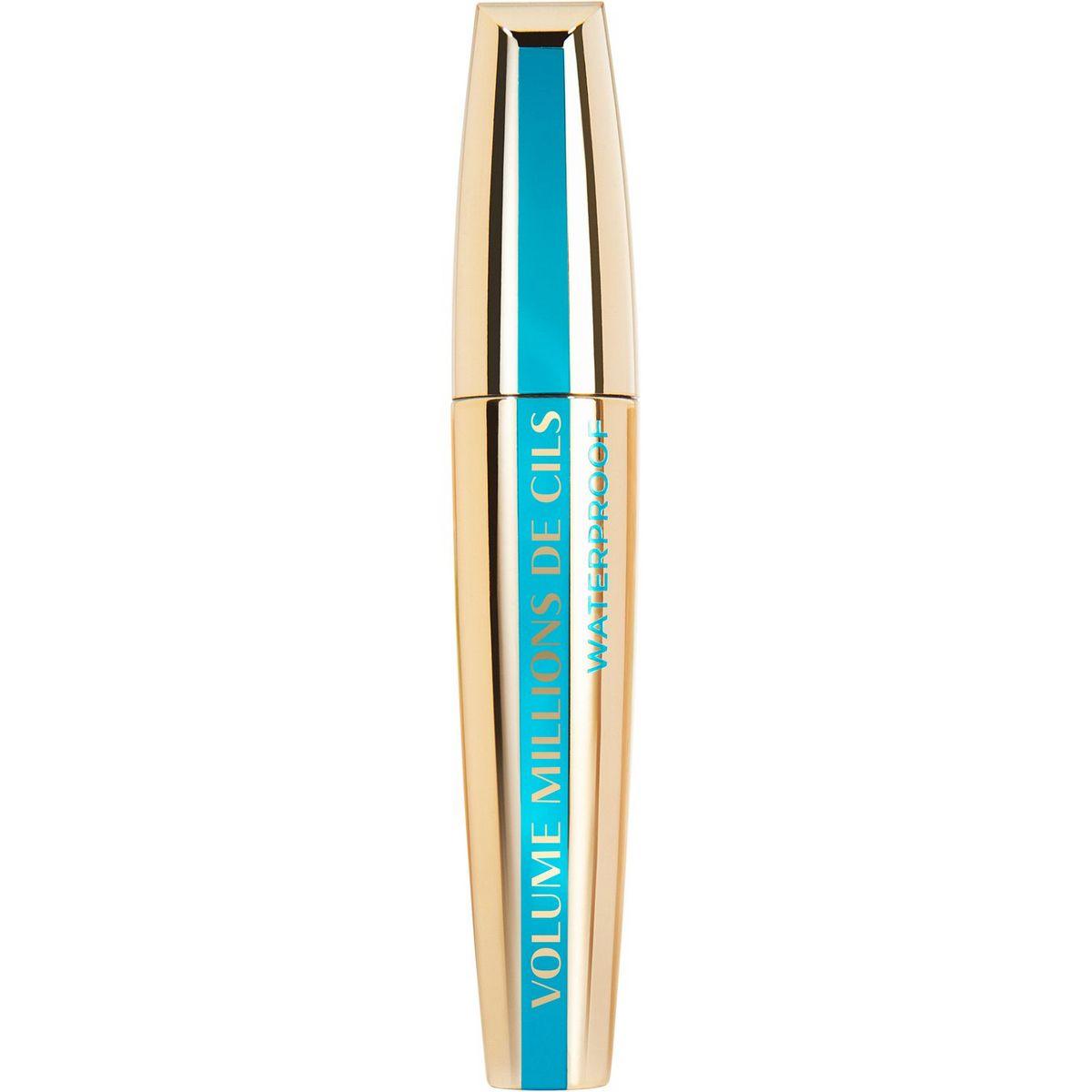 L'Oréal Mascara volume millions de cils waterproof noir x1