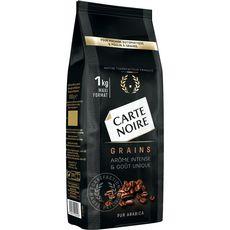 CARTE NOIRE Café en grains pur arabica 1kg