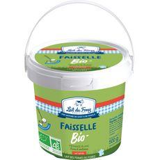 LAIT DU FOREZ Lait du Forez Fromage blanc faisselle 5,3% MG bio 500g 500g