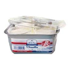 LAIT DU FOREZ Lait du Forez Fromage blanc faisselle label rouge 4,5MG 4x200g 4x200g