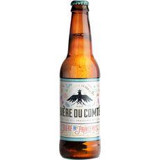 BIERE DU COMTE Bière du printemps au goût d'agrumes 5% bouteille 33cl