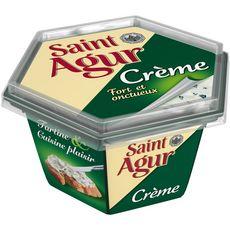 SAINT AGUR Crème de fromage fondu au lait de vache 155g