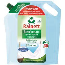 RAINETT Recharge lessive liquide concentrée écologique 30 lavages 1,5l