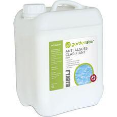 GARDENSTAR Gardenstar Anti algues clarifiant liquide pour piscine 5l 5l