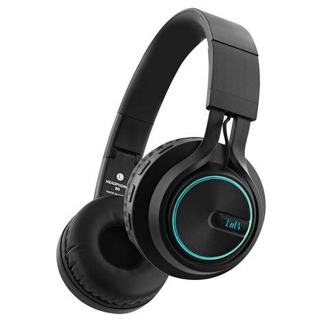TNB Casque audio Bluetooth - Noir - Air Light Led