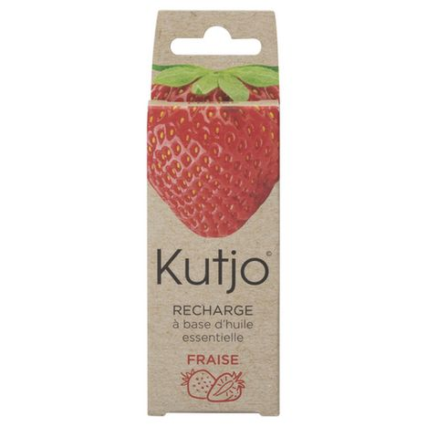 KUTJO Recharge pour spray Kutjo K1 nettoyant smartphones et tablettes - Huiles essentielles fraise