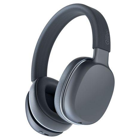 QILIVE Casque audio Bluetooth - Noir - Q.1009 BT