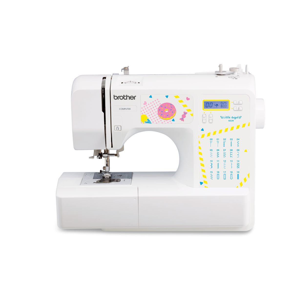 Machine à coudre KE20VM1 - Blanc