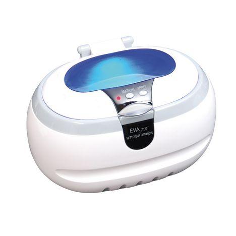EVA JOY Nettoyeur à ultrasons ULTRAS26394 - Blanc