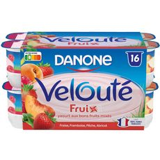 VELOUTE FRUIX Velouté fruix yaourts aux fruits brassé 16x125g