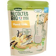 BLEDINA Muesli de céréales à la vanille bio en poudre dès 6 mois 200g