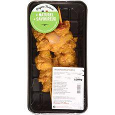 Brochette de poulet au curry x2 -280g