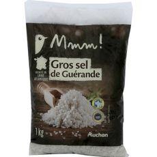 AUCHAN MMM! Gros sel de Guérande récolté en Loire Atlantique 1kg