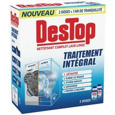 DESTOP Traitement intégral nettoyant complet pour lave-linge 2 doses 500ml