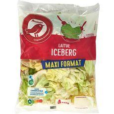 AUCHAN Laitue iceberg 5-6 portions 450g