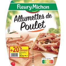 FLEURY MICHON Fleury Michon Allumettes de poulet 2x75g +20% offert 2x75g +20% offert