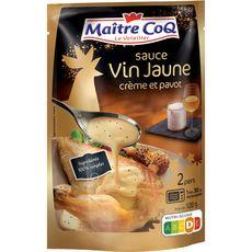MAITRE COQ Maître Coq Sauce au vin jaune et crème 120g 2 personnes 120g