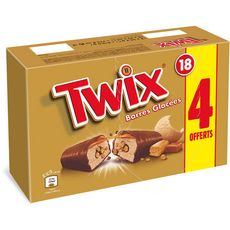 Twix Barre glacée caramel et chocolat 615g