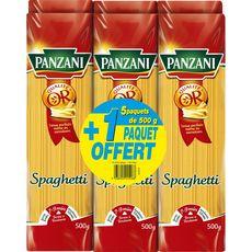 PANZANI Spaghetti qualité or dont 1 offert 6X500G