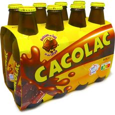 CACOLAC Boisson au lait et au cacao bouteilles 8x20cl