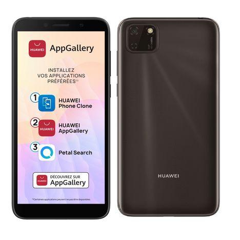 HUAWEI Smartphone Y5P 32 Go 5.45 pouces Noir 4G Double NanoSim