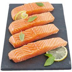 Pavé de saumon 4 pavés 500g