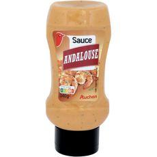 AUCHAN Sauce andalouse en squeeze 340g
