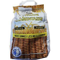 La Patate Charentaise Pommes de terre spéciales frites ou purée sac 3,5kg 3,5kg