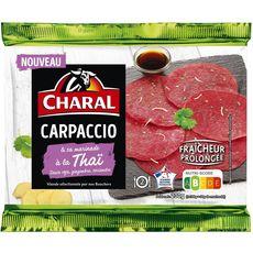 CHARAL Carpaccio de boeuf et sa marinade à la Thai 2 personnes 230g