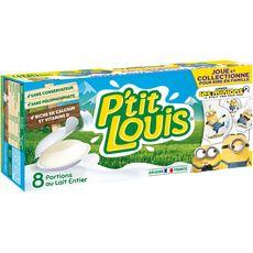 PTIT LOUIS Fromage au lait pasteurisé 8 portions 160g