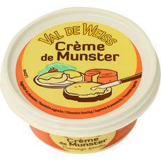 VAL DE WEISS Crème de Munster pasteurisé 25% MG 150g